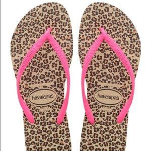 Havaianas Cheetah Sandals